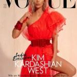 Kim Kardashian on the cover of Vogue India