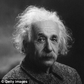Albert Einstein (pictured) published his General Theory of Relativity in 1915