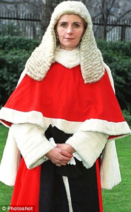Judicial College chief Lady Justice Rafferty (pictured)