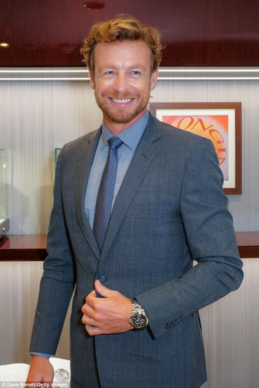 Simon Baker weighs on the Me Too movement | Daily Mail Online