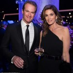 Cindy Crawford and Sharon Stone at the Forbes Travel Guide Dinner