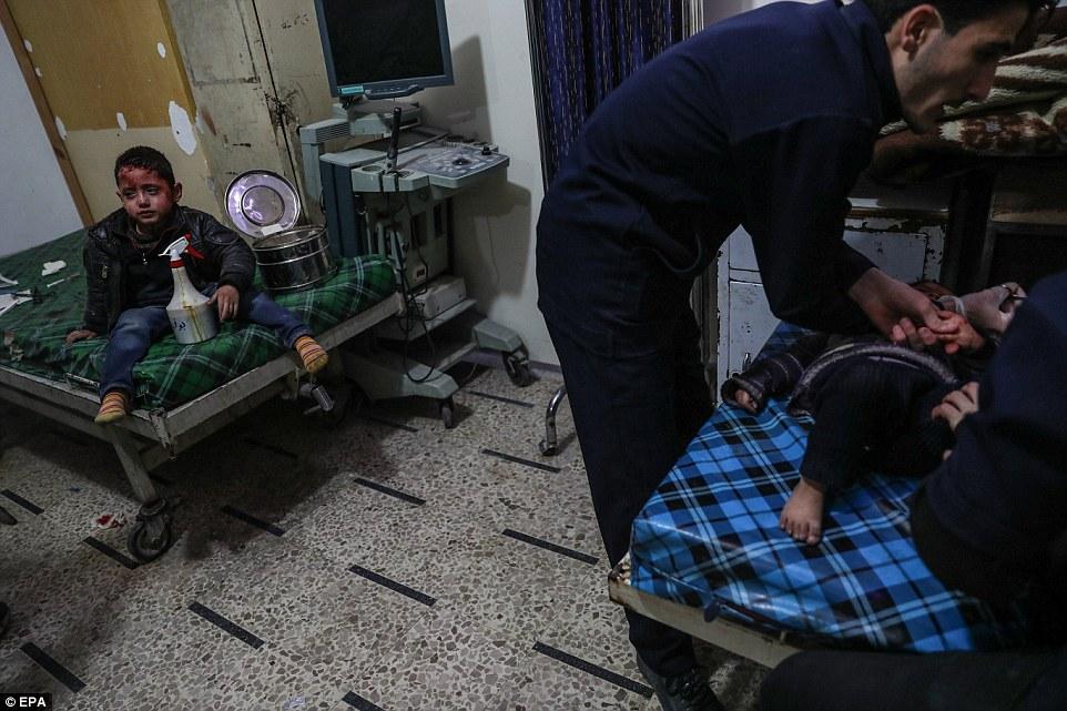El Consejo de Derechos Humanos de la ONU no logró el viernes acordar una resolución que condena la crisis en Ghouta Oriental