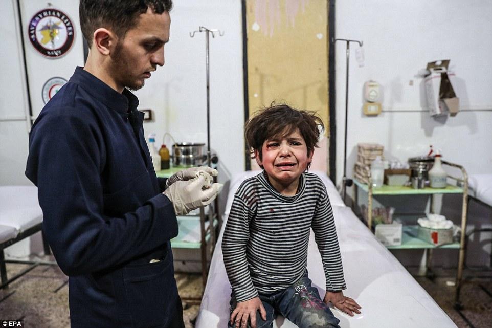 Las Naciones Unidas quieren que las fuerzas sirias y rusas acuerden un alto el fuego para permitir el envío de ayuda humanitaria a la zona