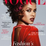 Gugu Mbatha-Raw on the cover of Vogue