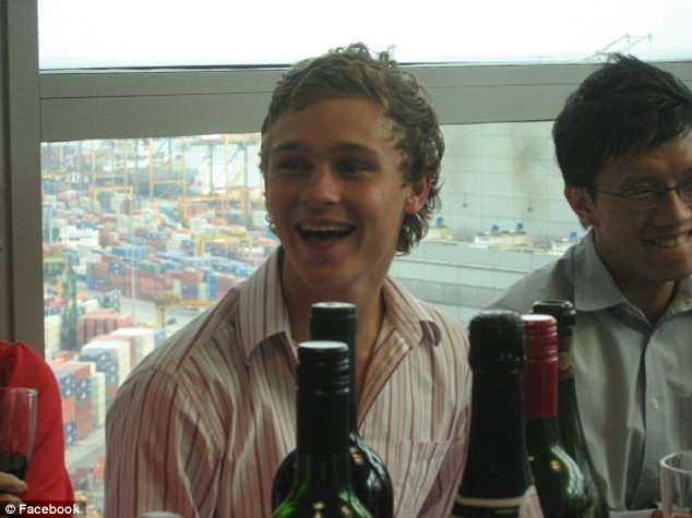Before the accident Mr Ballard's mother Katie described her son Sam (pictured) as a 'larrikin' but 'invincible'
