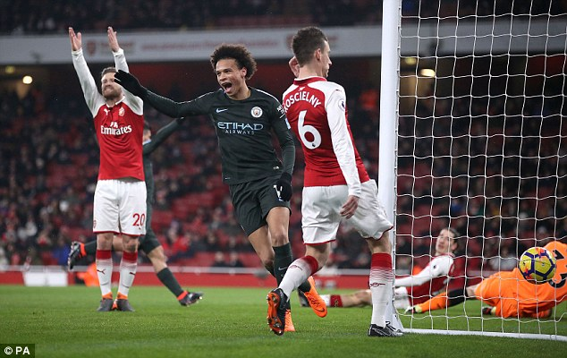 The Gunners currently sit sixth in the Premier League, 33 points behind Manchester City
