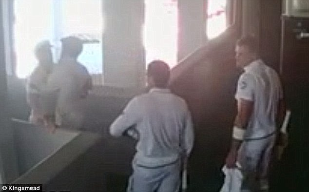 Warner was caught on camera calling de Kock a 'f**king sook' as the players left the field at tea on day four of the first Test, before a tit-for-tat exchange turned ugly