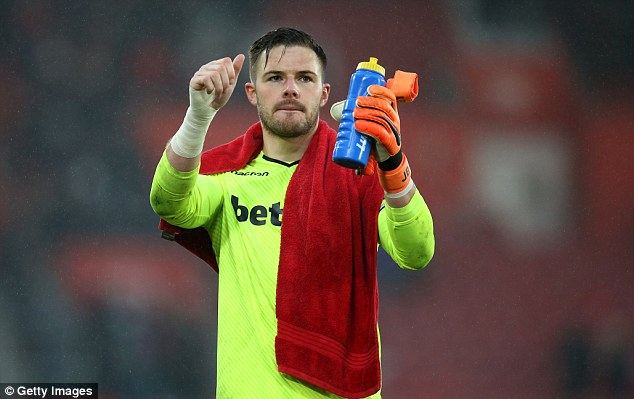 Butcher believes that Stoke City's Jack Butland should be England's No 1 at the World Cup