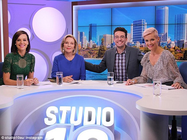 Out: Jessica's appearance on Studio 10 comes nearly two weeks after her abrupt departure from the Channel Ten show on March 9