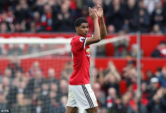 Marcus Rashford should play next to Kane for England but he's made just one PL start in 2018