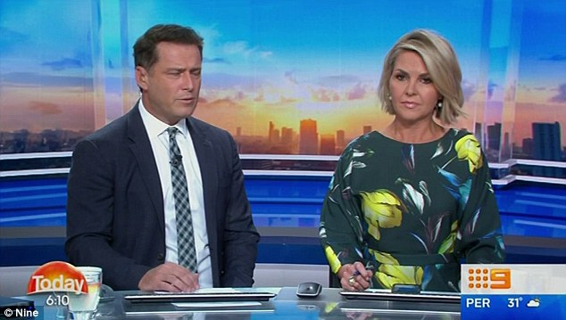 Drama: A taxi driver who allegedly taped Peter Stefanovic speaking to his brother Karl (left) on speakerphone about his Today co-host Georgie Gardner (right) is attempting to sell the recording to the highest bidder