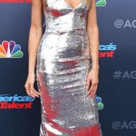 Heidi Klum's Metallic style at America's Got Talent kickoff  In LA