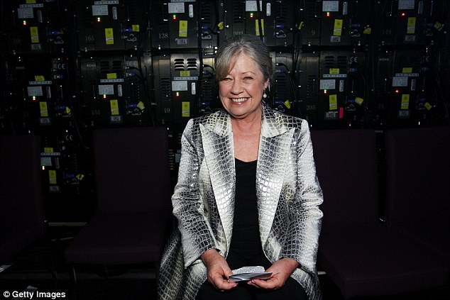 'We need to move forward': Noni Hazlehurst, 64, weighed in on #MeToo and #TimesUp campaign in candid discussion about change (pictured in Sydney, December 2017)