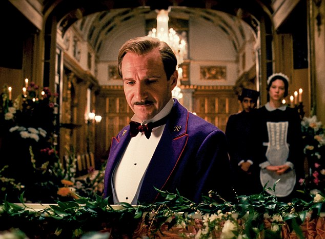 The actor also had a starring role in The Grand Budapest Hotel in 2014