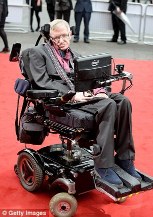 Professor Stephen Hawking, who died today
