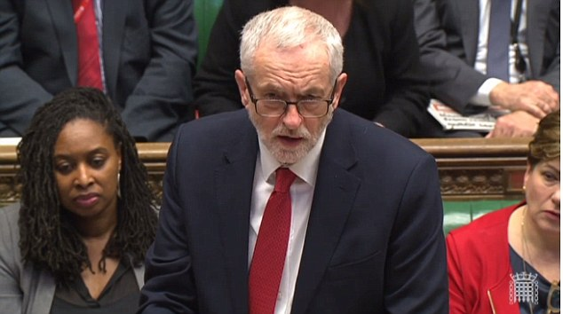 Jeremy Corbyn was branded a 'disgrace' after he failed to condemn the Kremlin over the Salisbury spy poisoning yesterday and parroted the Kremlin line by demanding that they are given a sample of the poison to test themselves