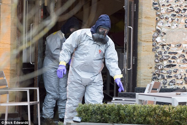 Forensic investigators were still hard at work in Salisbury this week following the attack