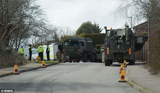 Dorset and Wiltshire Fire and Rescue Service said the activity is related to the Salisbury probe