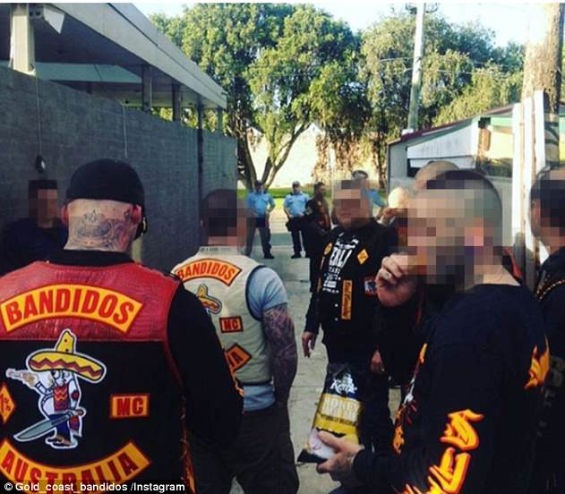 The Gold Coast Bandidos have thousands of followers of their own on Instagram (pictured), and they have subscribed to Yakiboy's feed