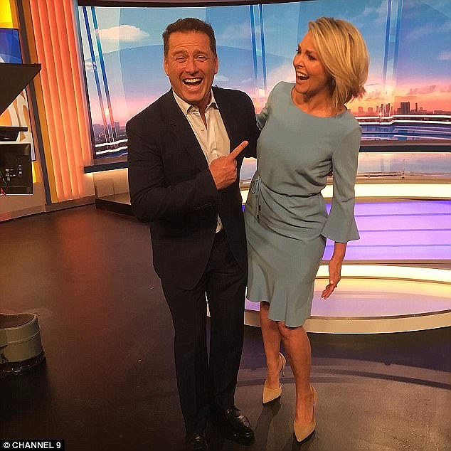 'One that people are going to focus on is Georgie Gardner, because that is a very testy relationship anyway': Ford alleged that the contents of the conversation would 'pull apart' Karl and Georgie's already difficult relationship