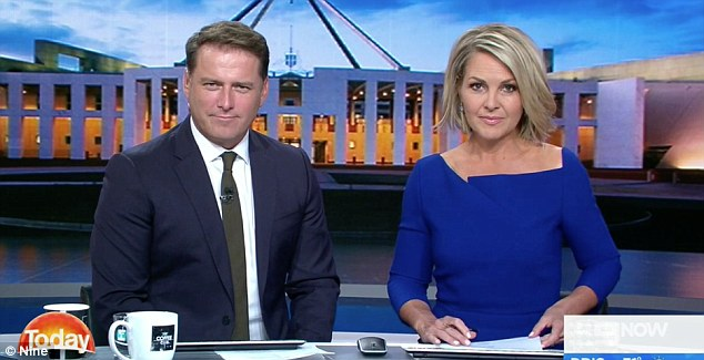 'I don't know how she is going to be able to continue to sit opposite him': Claims things are going to be VERY awkward between Karl Stefanovic and Georgie Gardner as more details of THAT 'b*tchy' Uber audio emerge