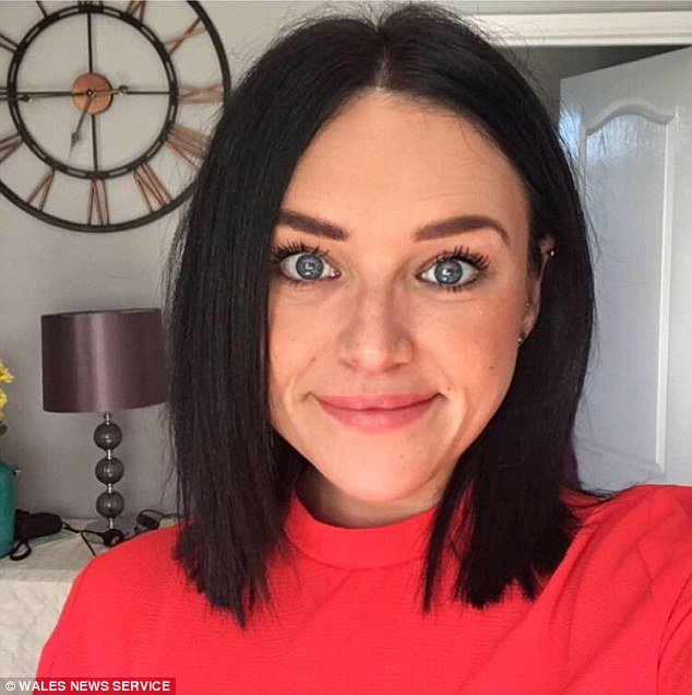 A court heard 'hard-working and successful' Brown was downing wine after work when she spotted the man, 20, standing at the bar