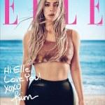 Kim Kardashian Shares Behind-the-scene photos from her Elle shoot