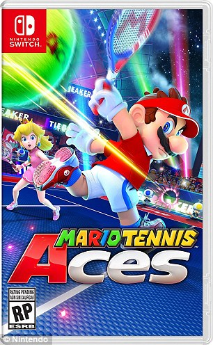 Luigi Has A Penis Thats 37inches Flaccid In Mario Tennis Aces Daily Mail Online
