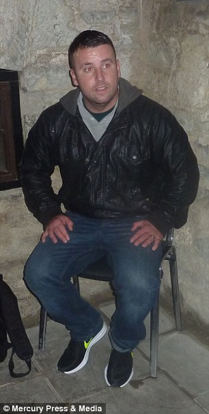 Tony, 33 is has a keen interest in the paranormal and claims he has had several encounters with spirits over the years