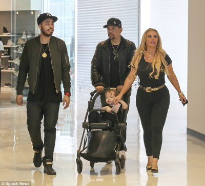 Ice T,Coco and Chanel in Black for Shopping Spree