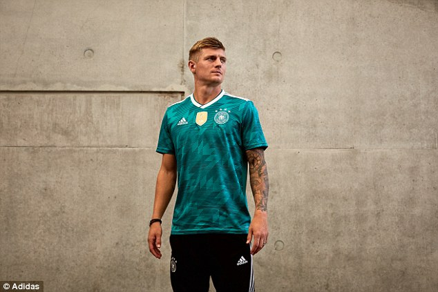 Germany lifted the World Cup back in 1990 so will hope this retro kit will be a good omen