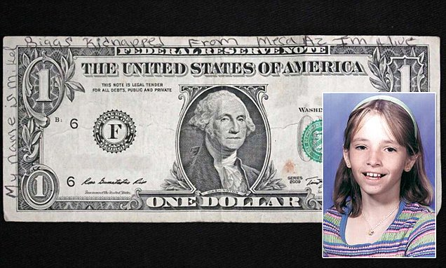 Uang dolar yang bikin heboh itu (inset : Mikelle Biggs)