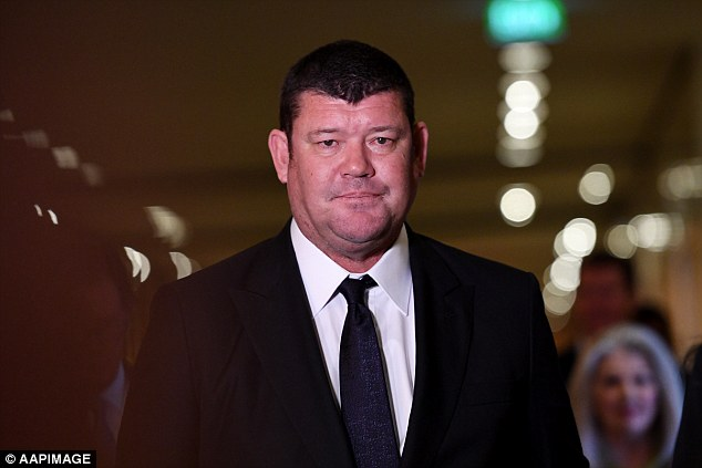 James Packer (pictured) has resigned as director of Crown Resorts for mental health reasons after a horror year