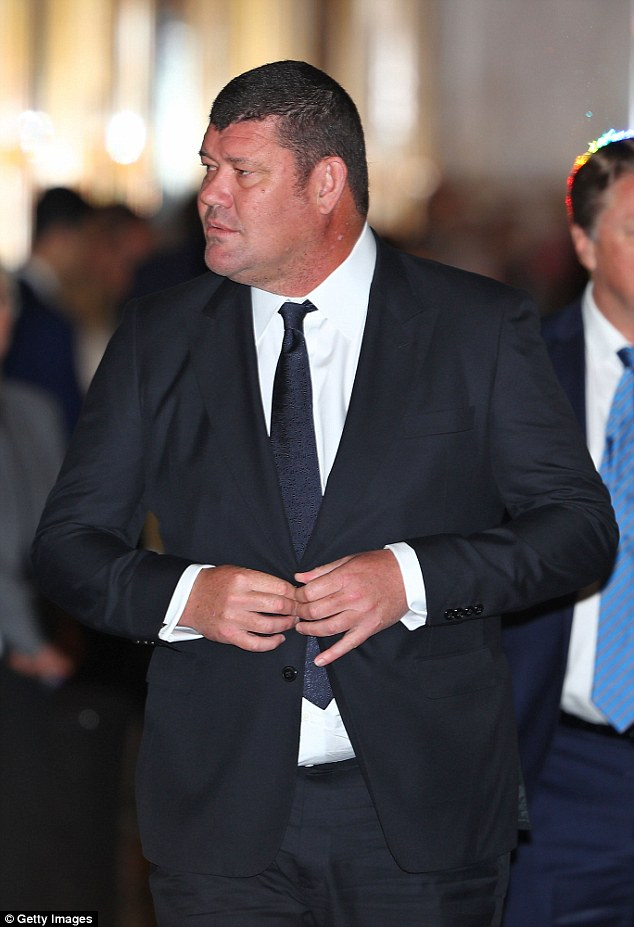 Mr Packer (pictured), the son of media tycoon Kerry Packer, has spoken out in the past about his battles with depression and dealing with the death of his father in 2005