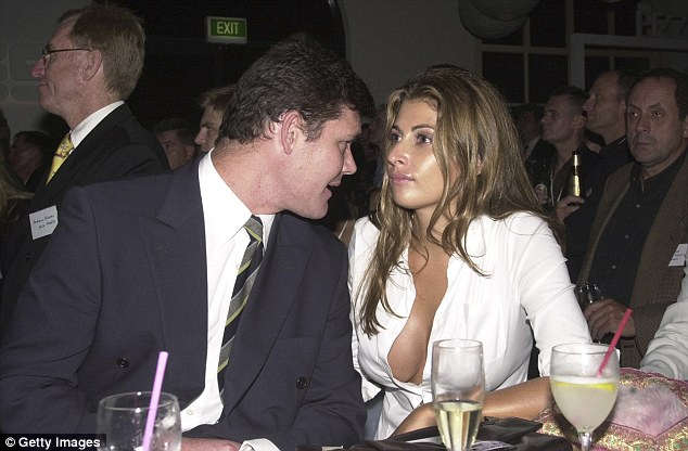 Pictured is James Packer and his first wife Jodhi Meares in 2001 - the couple separated the next year