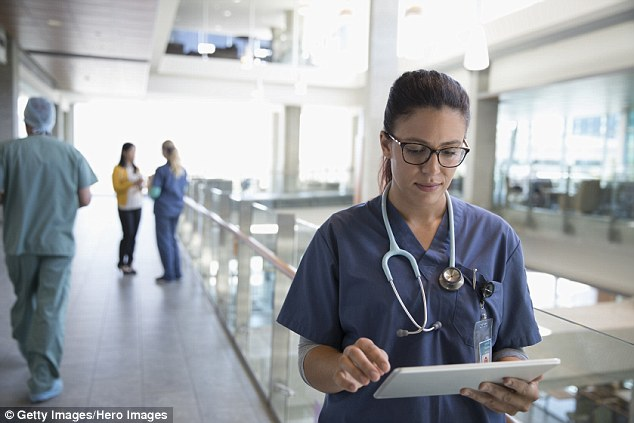 White nurses and midwives have been forced to acknowledge their privileged upbringing in the name of 'cultural safety' - a move which has been slammed as 'racist to its core' (Stock image)