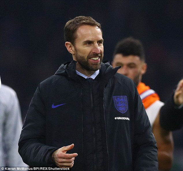 England manager Gareth Southgate wants his side to emulate his Euro 96 side at Russia 2018