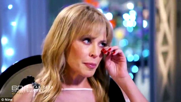 'I really did lose myself': Australian pop princess Kylie Minogue has broken down during an interview about her devastating split from fiancé Joshua Sasse
