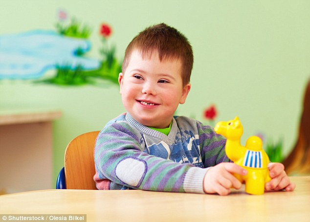 Children with Down's syndrome are treated unfairly by the Government and not put on organ transplant lists (file photo)