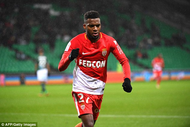 Monaco star Thomas Lemar has been linked with Premier League sides Arsenal and Liverpool