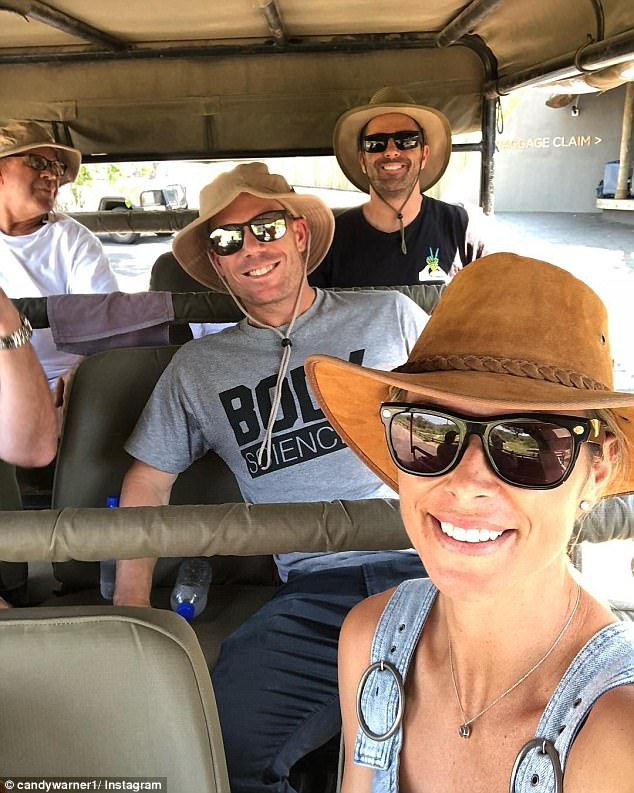 During the couple's time in South Africa they were seen jetting off for mini trips, including safari