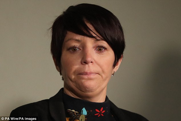 Louise James (pictured) has filed High Court proceedings against Donegal County Council over the Buncrana pier tragedy in which her partner, two sons, sister and mother died