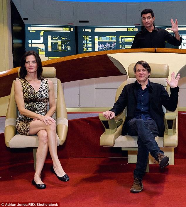 Star Trek Actress Marries Spocks Son In San Francisco
