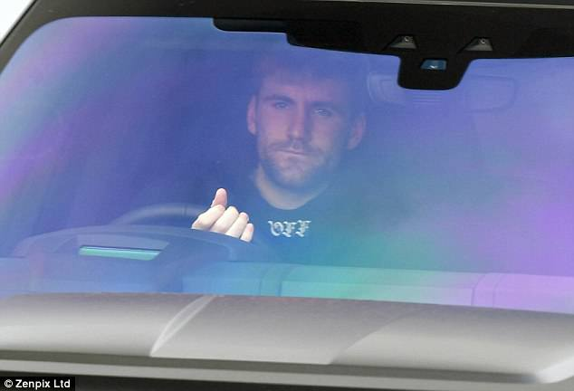 Luke Shaw, who has had his issues with boss Mourinho, reported for duty on Thursday