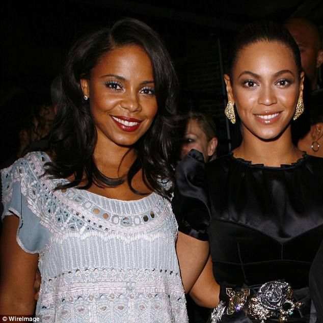 Culprit? Sanna Lathan and Beyonce have been seen partying together for years; the pair are pictured here in 2008