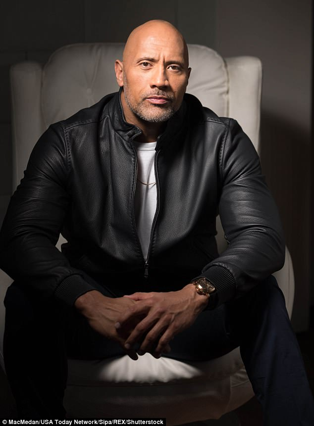Fighter: Dwayne 'The Rock' Johnson has opened up about his secret battle with depression which left him 'devastated and crying constantly', one month after he revealed he had witnessed his mother attempt suicide when he was 15