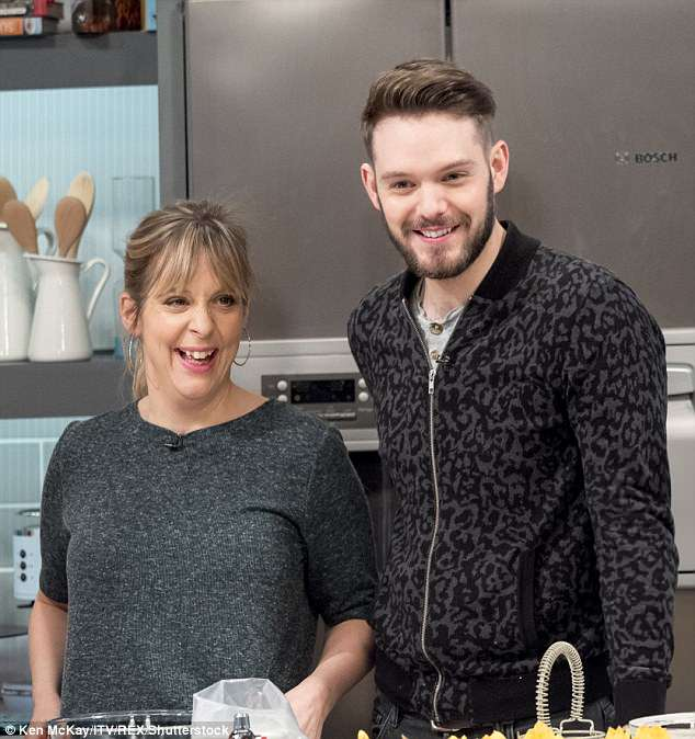 The author and cookery writer, pictured with Mel Giedroyc, shot to fame after he lifted the coveted Bake Off trophy in 2012...but his recent views on the battle for equality irked many