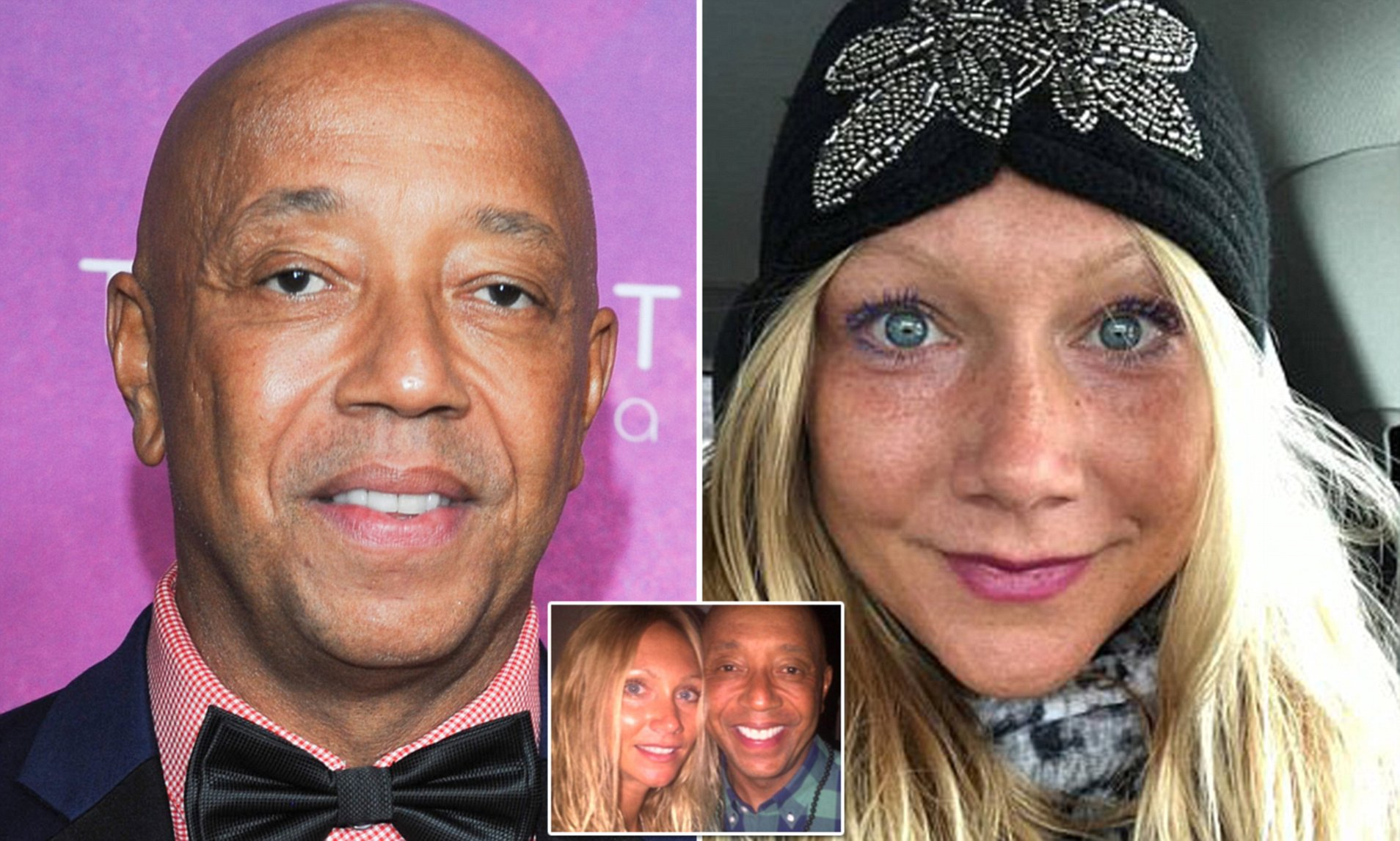 Image result for Russell Simmons Claims Rape Accuser's Texts & Photos Discredit Her Accusations