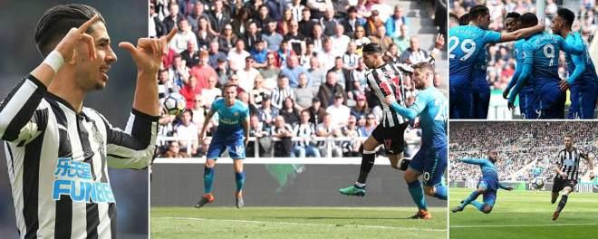 Newcastle vs Arsenal, LIVE score: Premier League updates