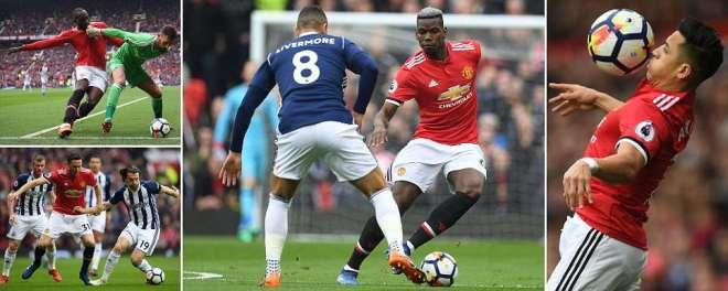Manchester United v West Brom, LIVE score: Premier League updates